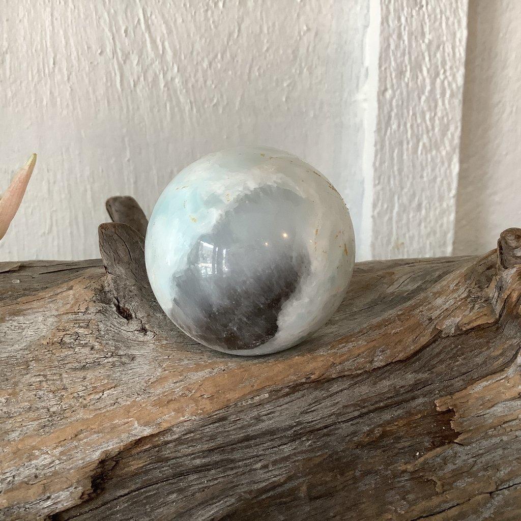 Blue Aragonite Sphere