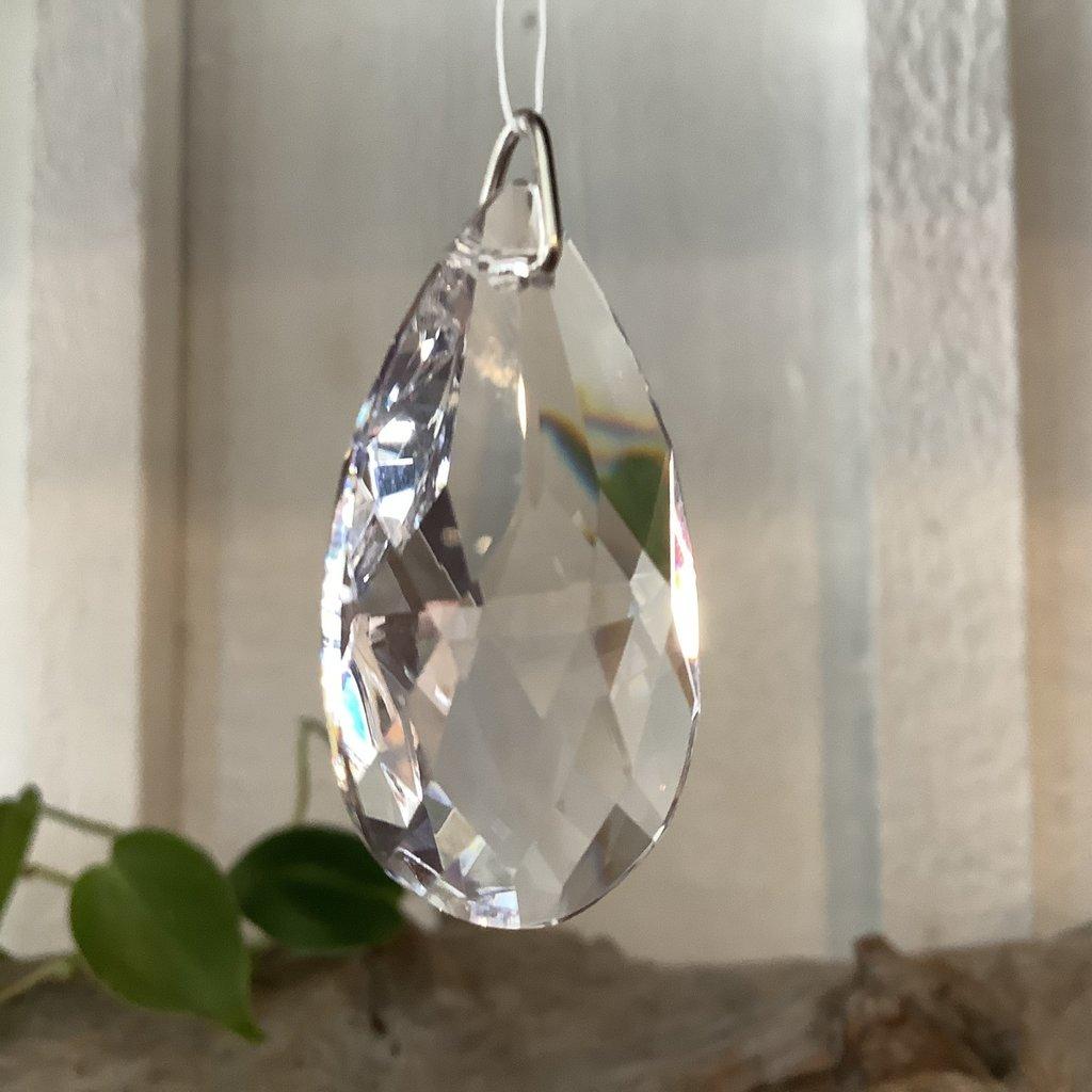 Teardrop Window Crystal