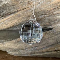 Sphere Faceted Window Crystal