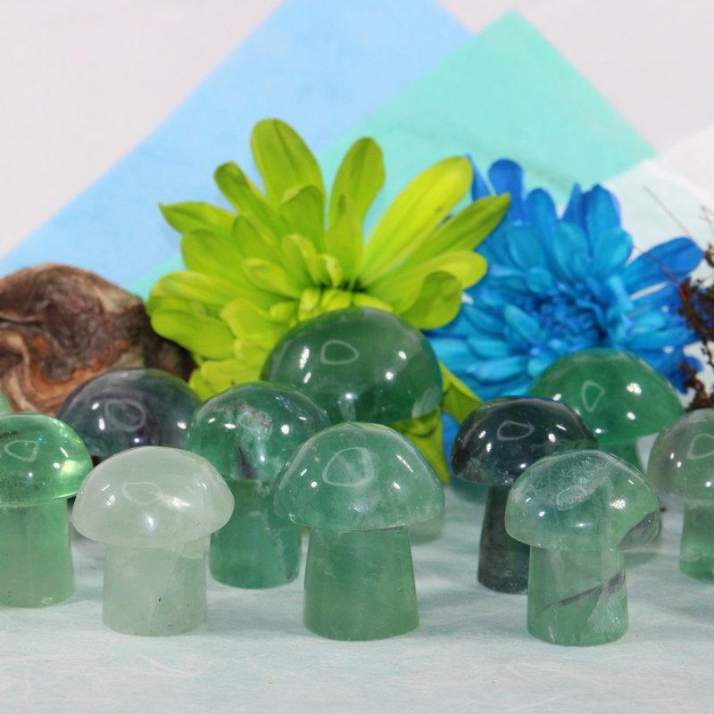 Fluorite Mushroom