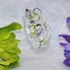 Open Heart Prism Window Crystal