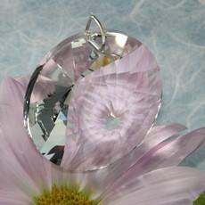 Large Circle Window Crystal