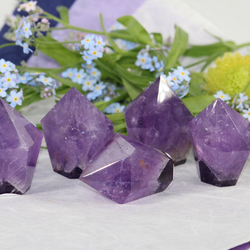 Amethyst Tapered Tower
