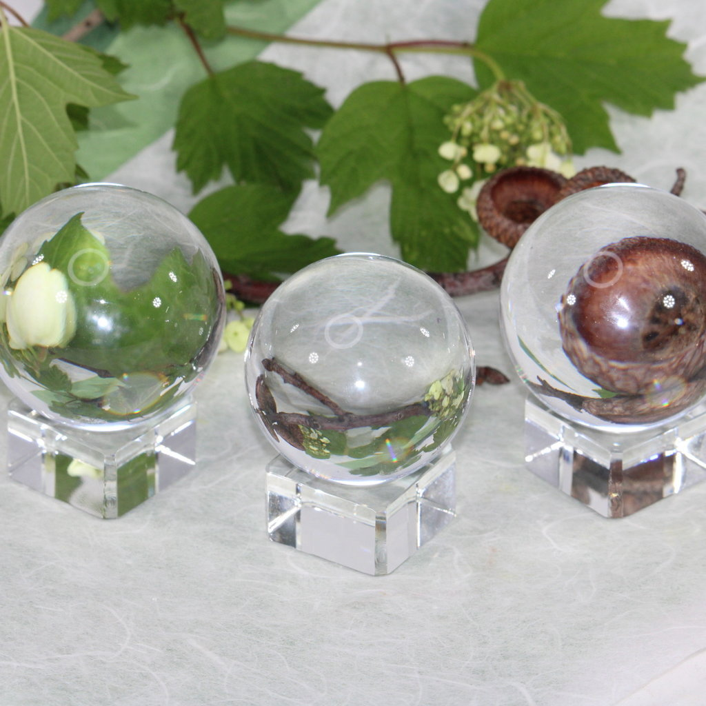 Small Crystal Scrying Ball