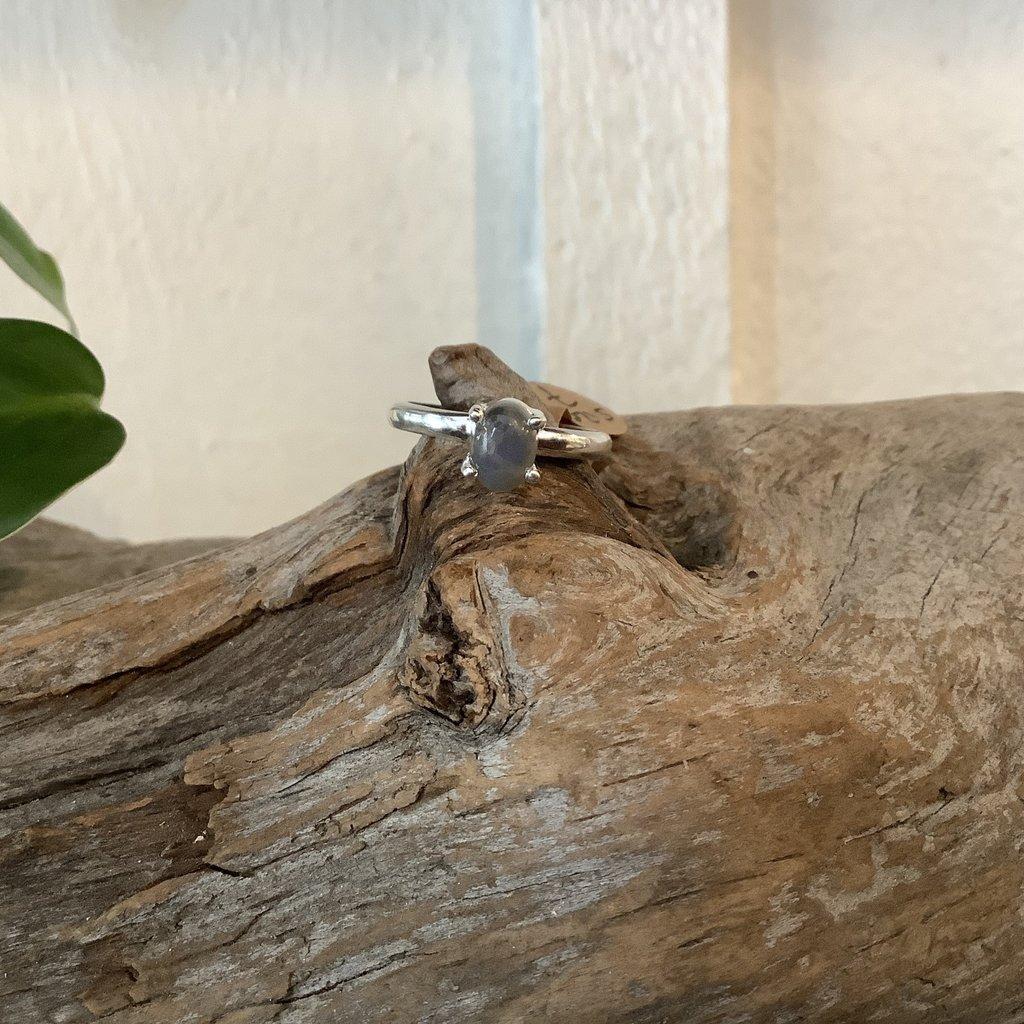 Labradorite ring size 7