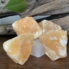 Orange Calcite Raw