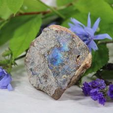 Raw Blue Opal