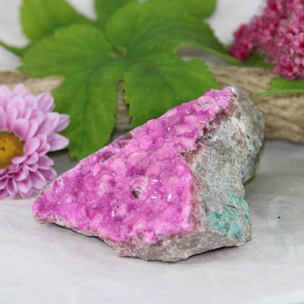 Cobalt Calcite Raw