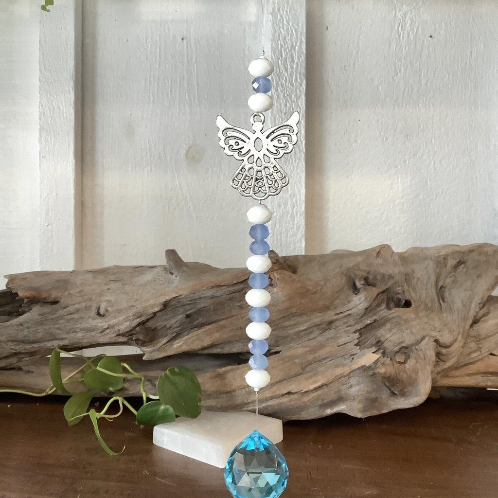 Blue Angel Window Crystal