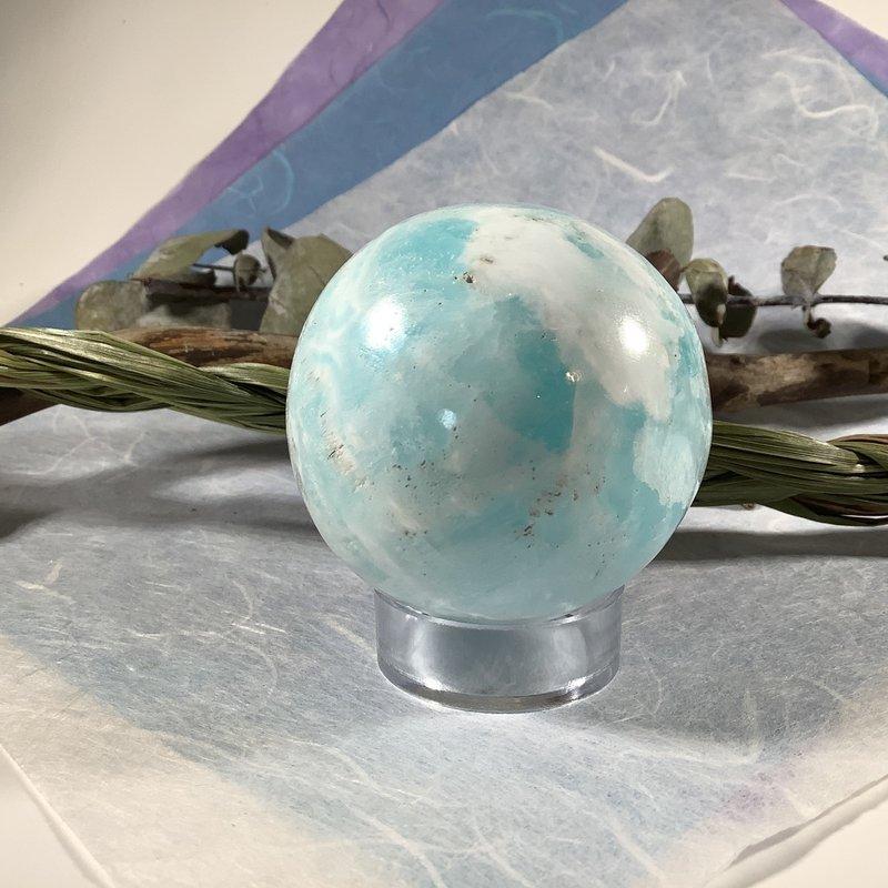 Caribbean Blue Calcite Sphere
