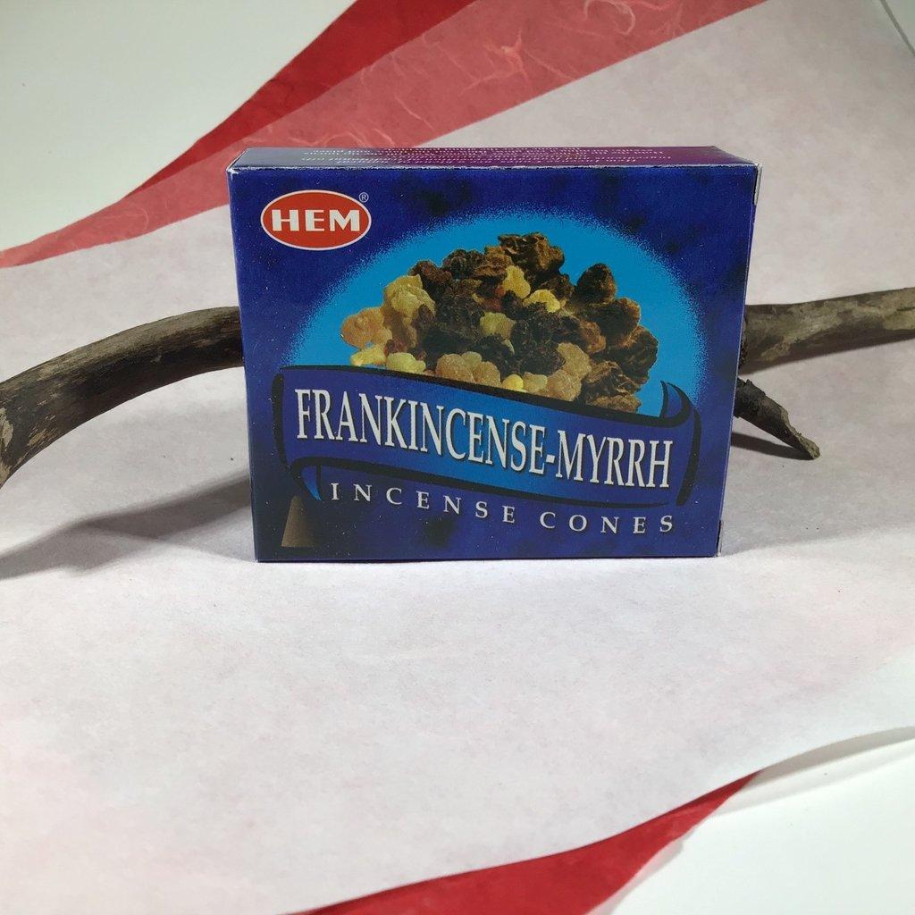 Hem Frankincense & Myrrh Cones