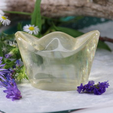 Honey Calcite Chinese Ingot Yuanbao