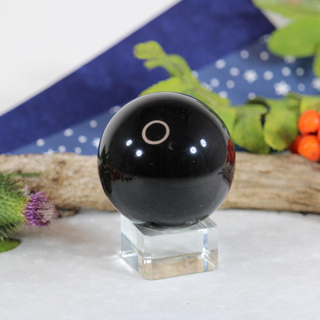 Black Obsidian Sphere