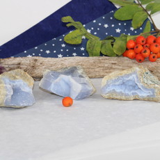 Blue Lace Agate Raw