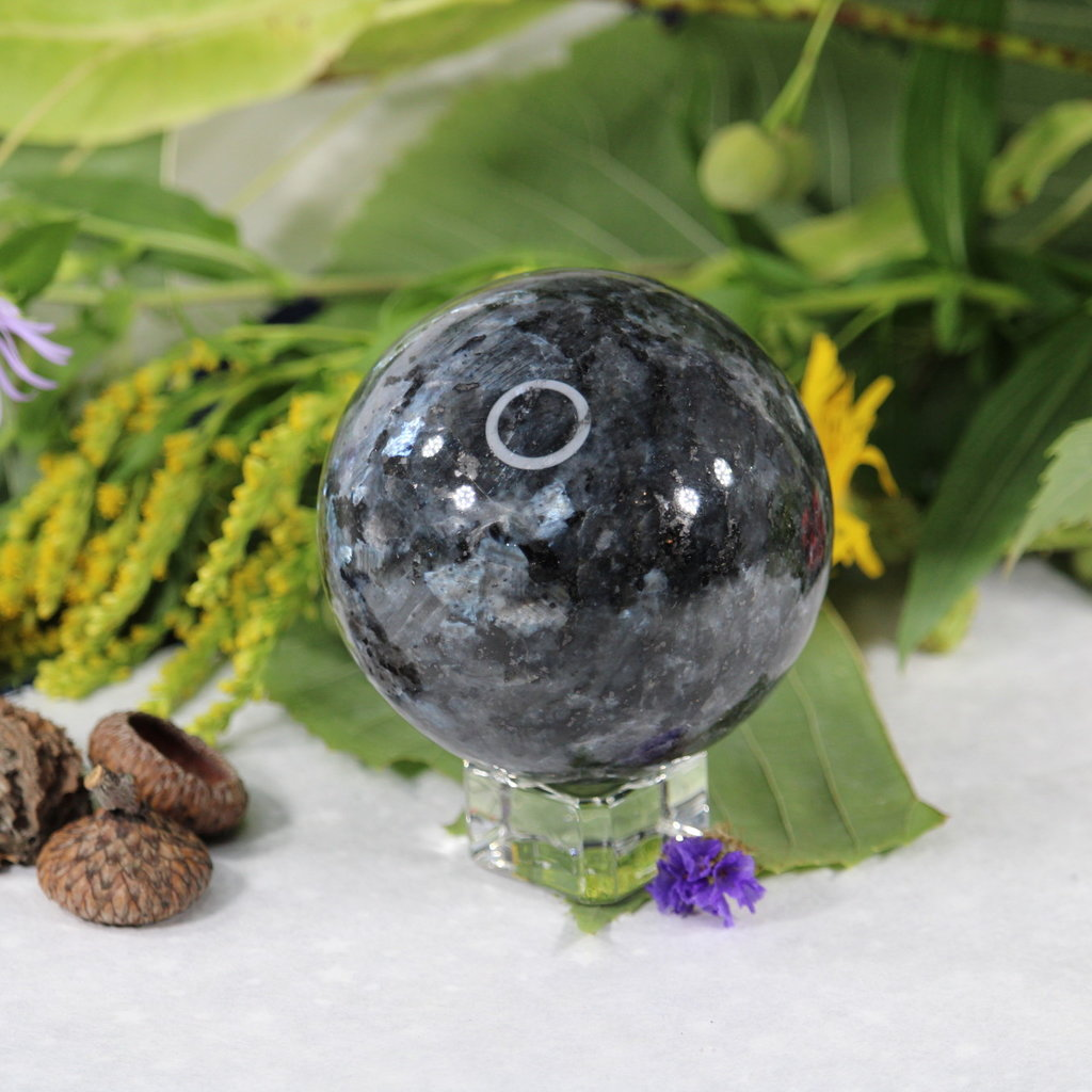 Larvikite Sphere