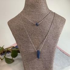 Lapis Lazuli Double Strand Necklace