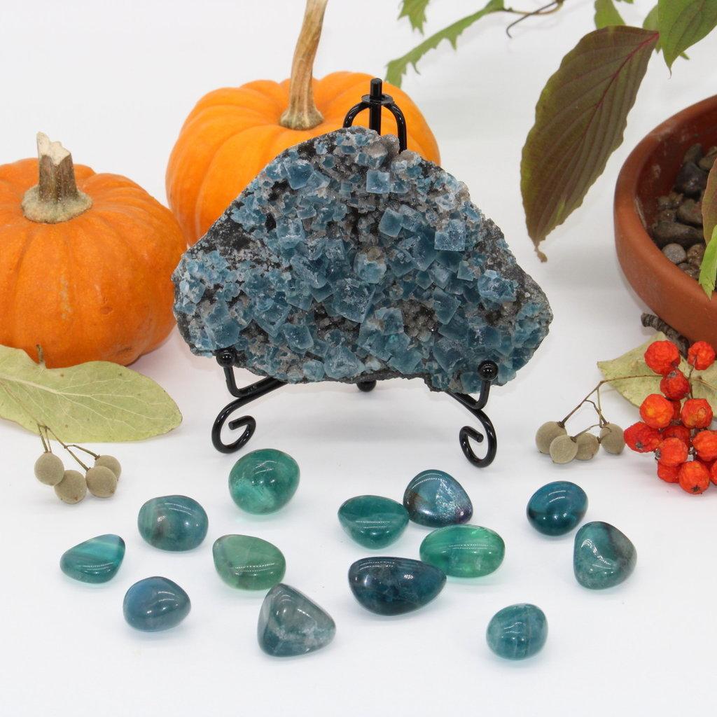 Blue Fluorite Cluster Specimen