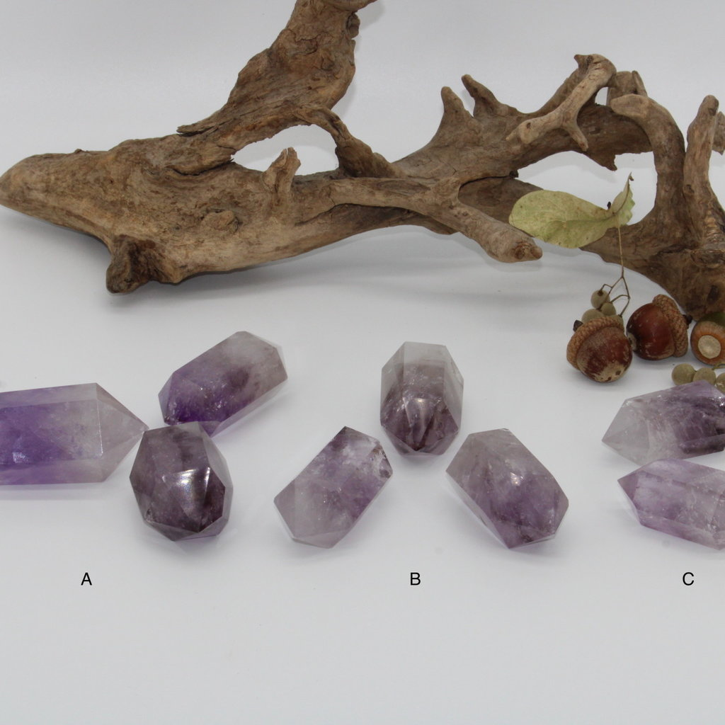 Smoky Amethyst Double Terminated