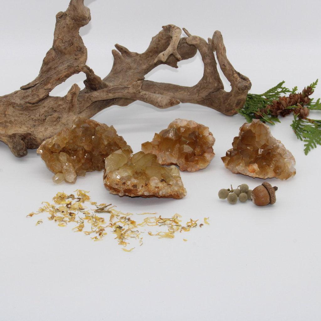 Natural Citrine Cluster