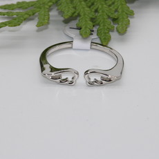 Wings Silver Ring Size 9