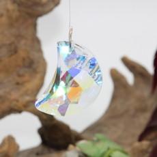 Iridescent Moon Window Crystal