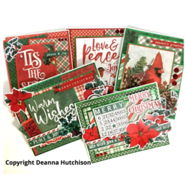 Deanna Hutchison Country Christmas Cards KIT