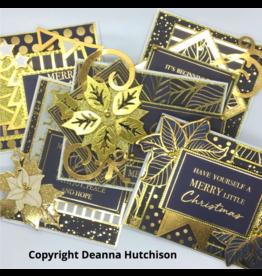 Deanna Hutchison Starry Night Christmas Cards KIT