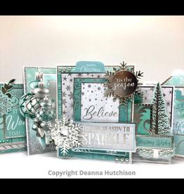 Deanna Hutchison Let it Snow Cards KIT
