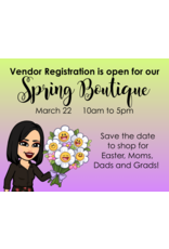 Creative Escape 03/22 Spring Boutique