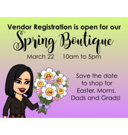 Creative Escape 03/22 Spring Boutique