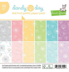 lawn fawn LF dandy day 6x6 petite paper pack
