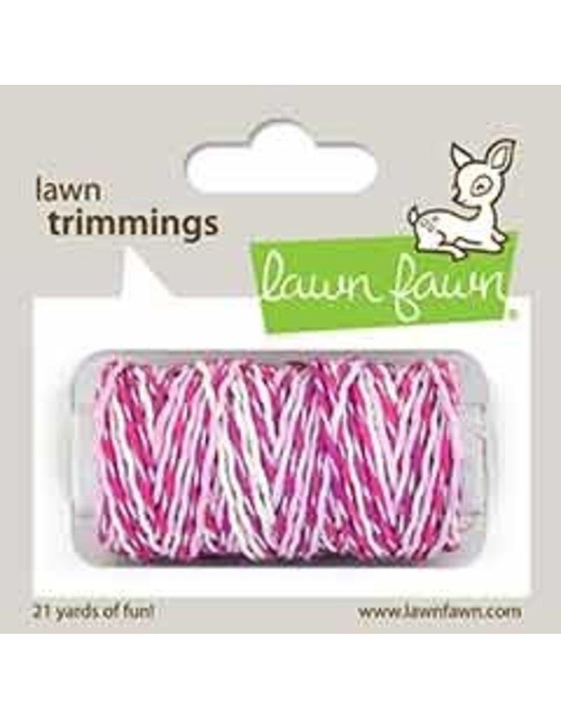 lawn fawn LF Twine pretty in pink sparkle cord