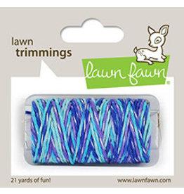 lawn fawn LF Twine mermaid's lagoon sparkle cord