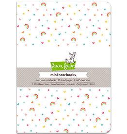 lawn fawn LF hello sunshine remix - mini notebooks