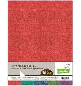 lawn fawn LF shimmer cardstock - gemstone