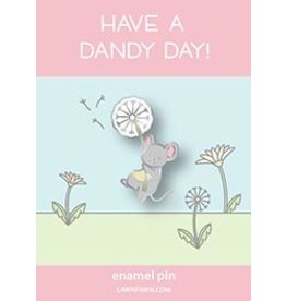 lawn fawn LF Pin dandy mouse enamel pin