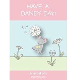 lawn fawn LF Pin dandy mouse enamel pin