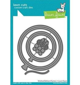 lawn fawn LF Dies stitched balloon frames