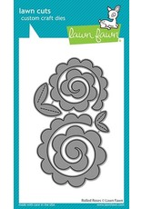 lawn fawn LF Dies rolled roses