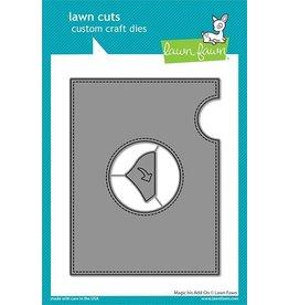 lawn fawn LF Dies magic iris add-on
