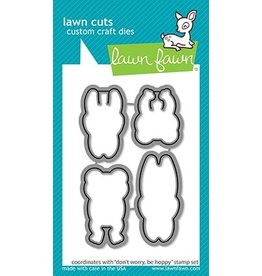 lawn fawn LF Dies dont worry, be hoppy - lawn cuts