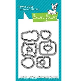 lawn fawn LF Dies say what? spring critters - lawn cuts