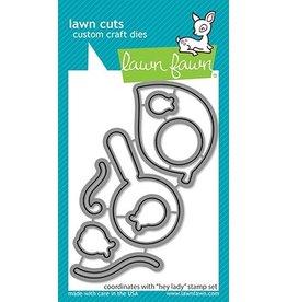 lawn fawn LF Dies hey lady - lawn cuts