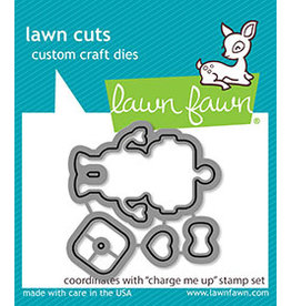 lawn fawn LF Dies charge me up  - lawn cuts
