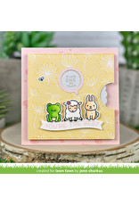 lawn fawn LF Stamp say what? spring critters