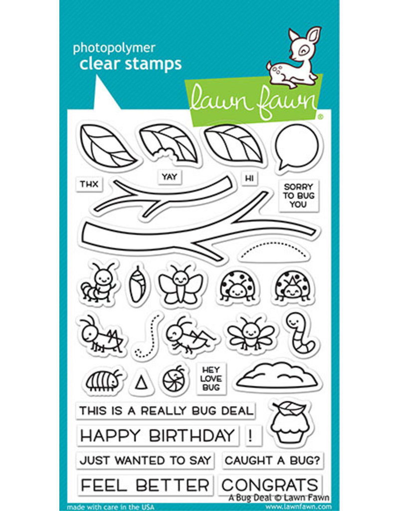 lawn fawn LF Stamp a bug deal