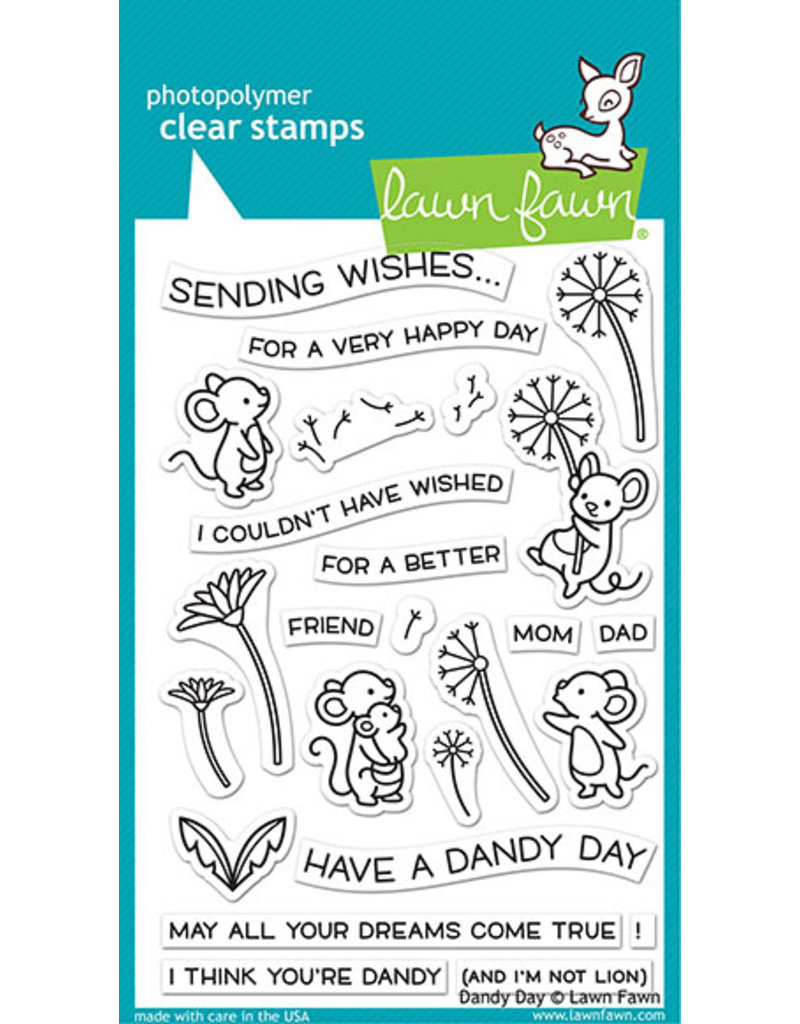lawn fawn LF Stamp dandy day
