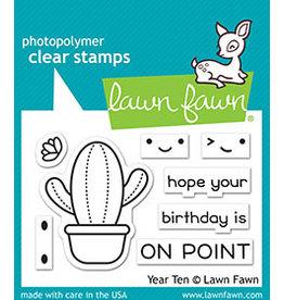 lawn fawn LF Stamp year ten