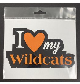 scrapbook customs LGHS Wildcats Diecut