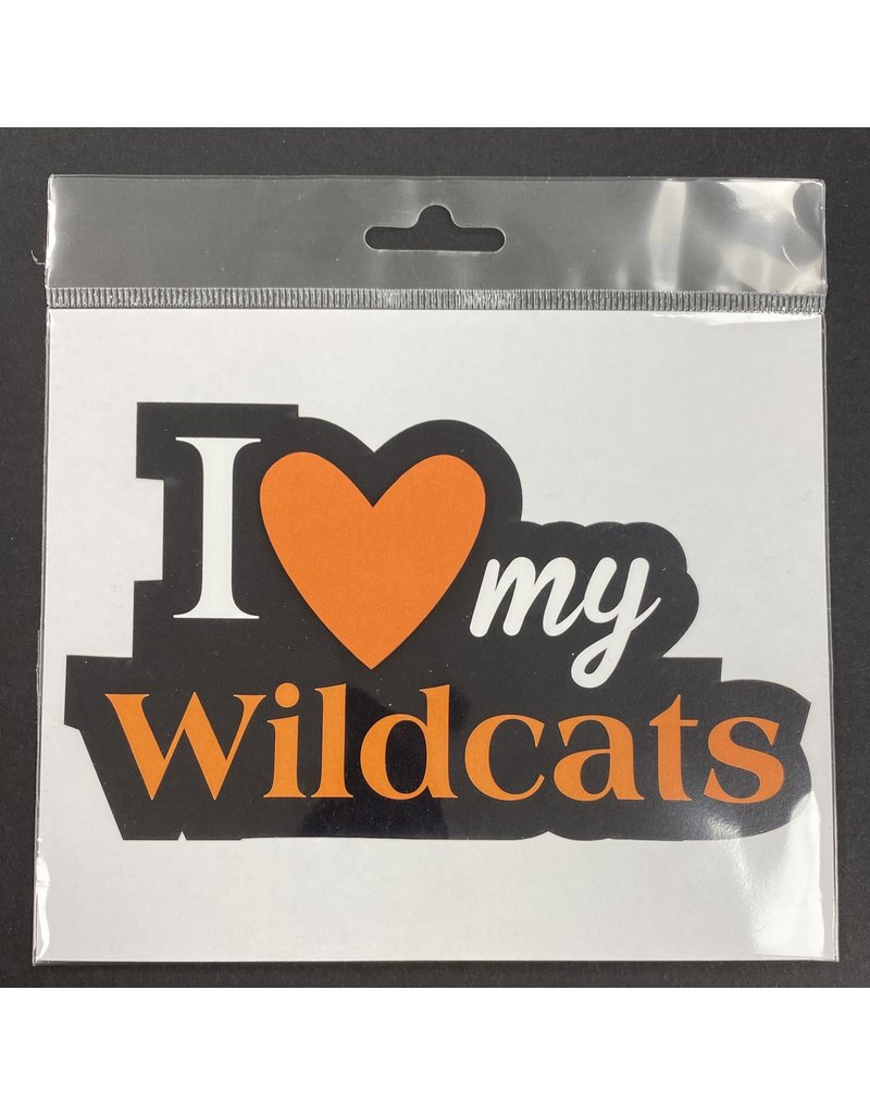 scrapbook customs LGHS Wildcats Diecut
